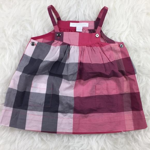471de4d04 Burberry Dresses   Children Baby Girls Dress 6 Month   Poshmark